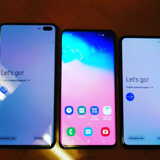 Katerega premium Samsunga kupiti? Galaxy S10e, S10, S10+
