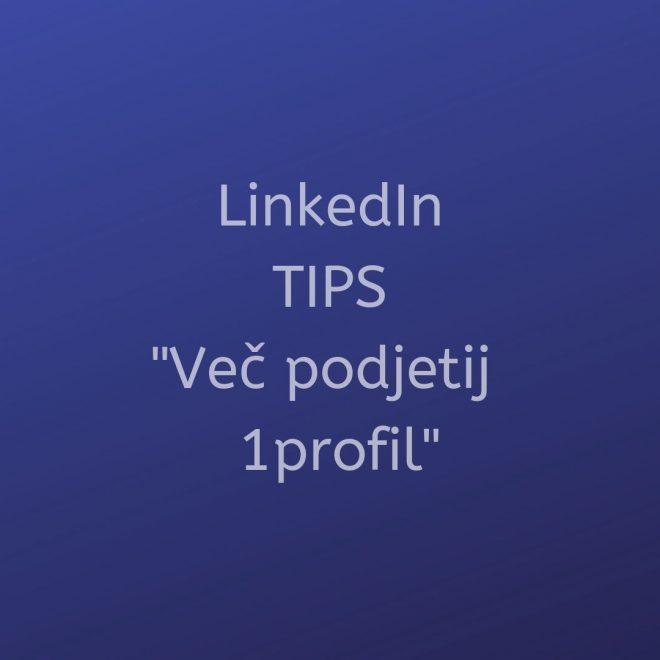 Kako voditi LinkedIn če imaš dve karieri?